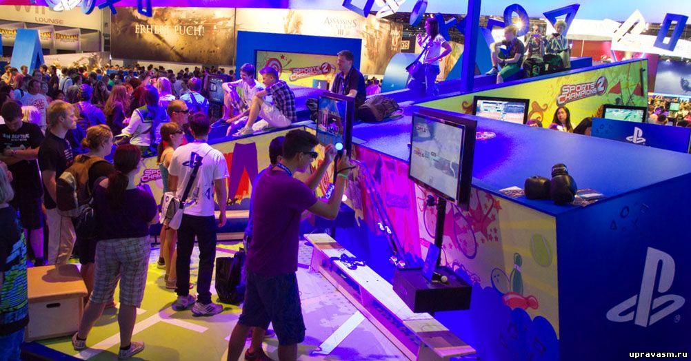 На выставке Gamescom 2015 побывало более 345 000 человек