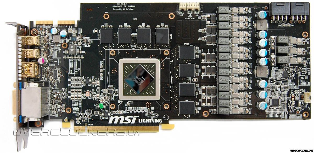 Обзор MSI RadeOn HD 6970 Lightning