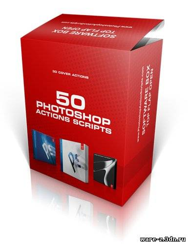 Photoshop Action Scripts (3D Cover Actions)