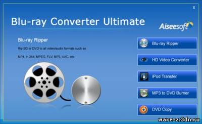 Aiseesoft Blu Ray Converter Ultimate v5.0.36